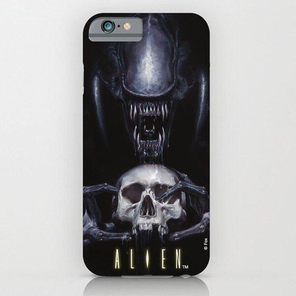 Alien Funda para iPhone 6 Plus Skull