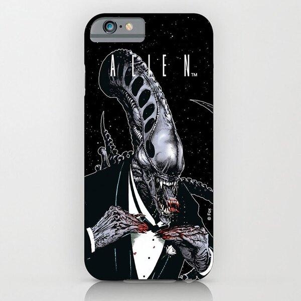 Alien Funda para iPhone 4 Tuxedo