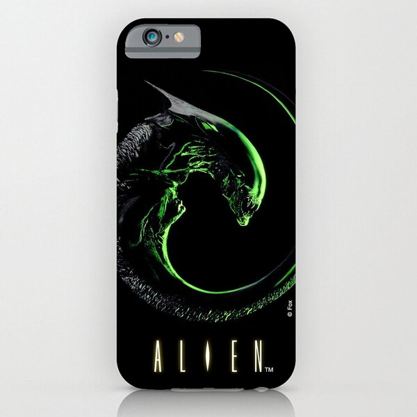 Alien Funda para iPhone 6 Plus Alien 3
