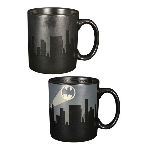 Batman Taza sensitiva al calor Dark Logo