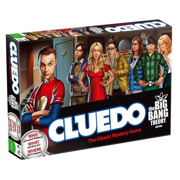 The Big Bang Theory Juego de Mesa Cluedo *Edición Inglés*