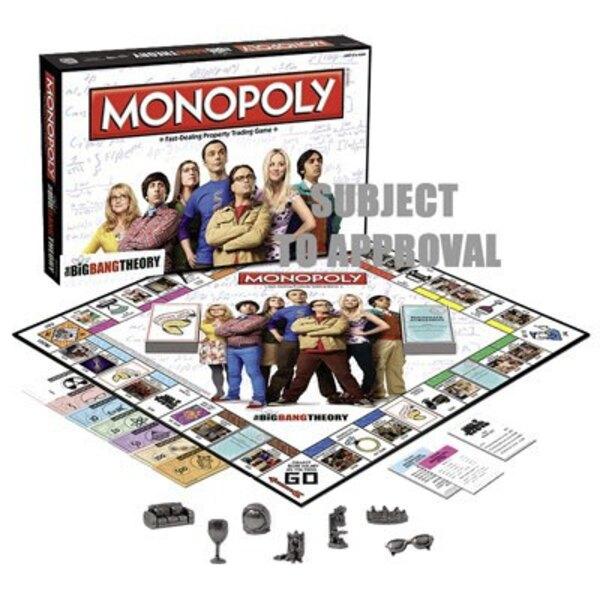 The Big Bang Theory Juego de Mesa Monopoly *Edición Inglés*