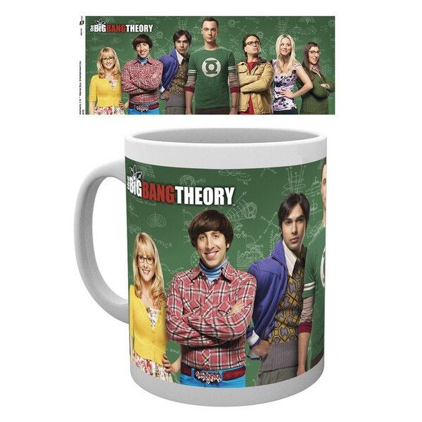 Big Bang Theory Taza Cast