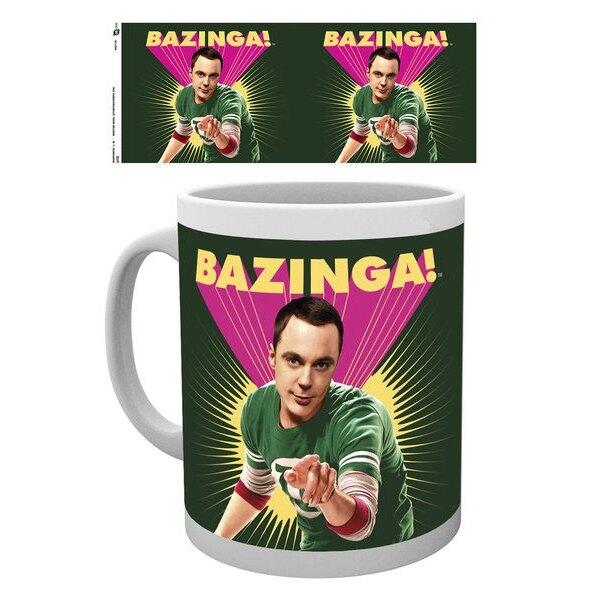 Big Bang Theory Taza Sheldon Bazinga