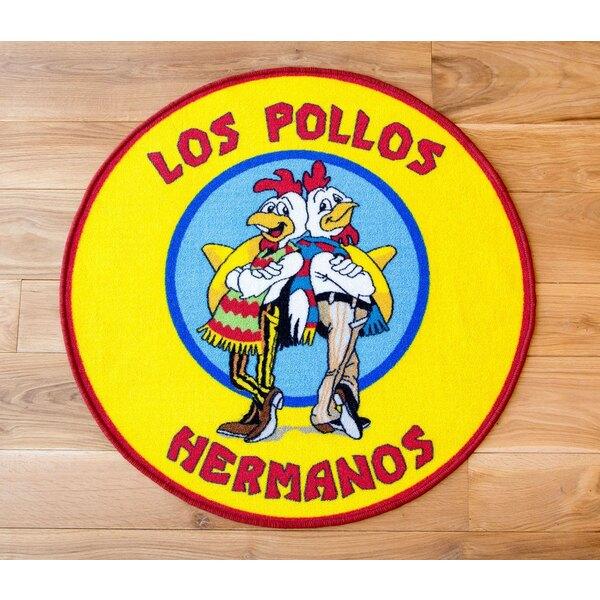 Breaking Bad Alfombra Los Pollos Hermanos 90 x 90 cm