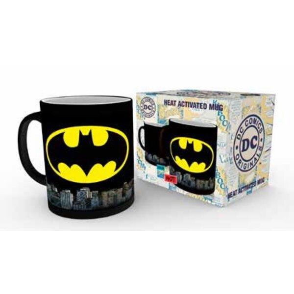 DC Comics Taza sensitiva al calor Batman Logo