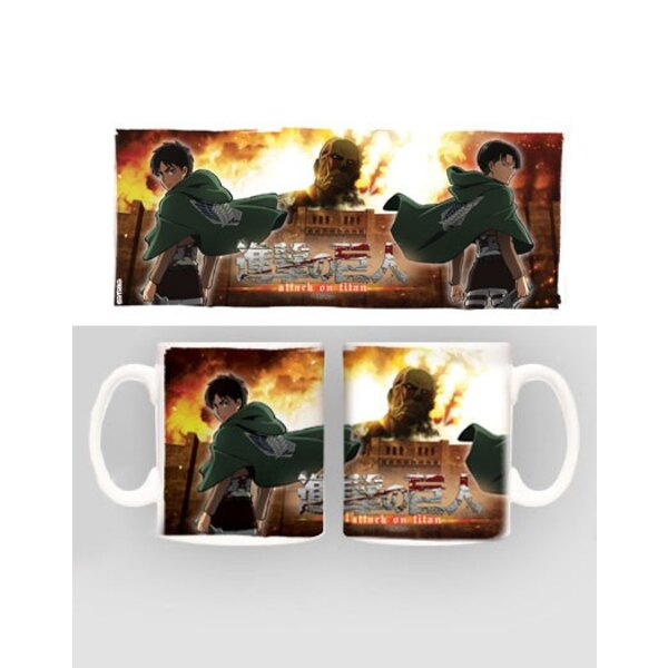 Attack on Titan Taza Duo heo Exclusive