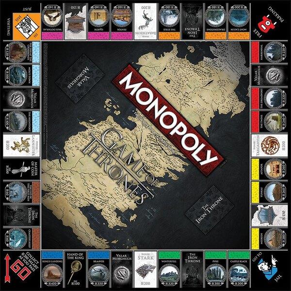 Juego de Tronos Juego de Mesa Monopoly Collectors Edition *Edición Alemán*