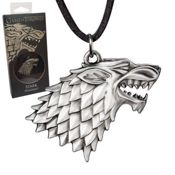 Juego de Tronos Colgante con Collar Stark Sigil Costume