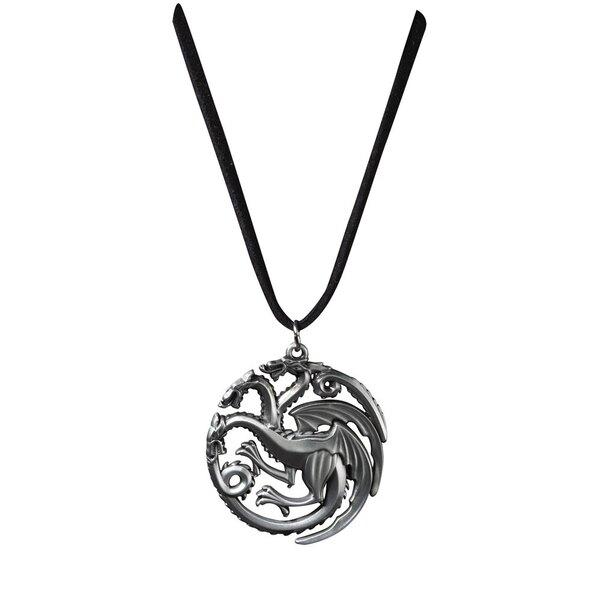 Juego de Tronos Colgante con Collar Targaryen Sigil Costume