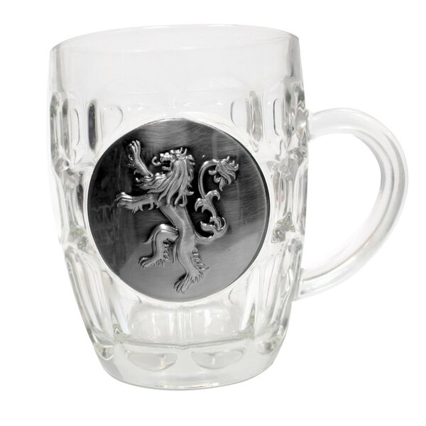 Juego de Tronos Jarra de cerveza Lannister Metallic Logo