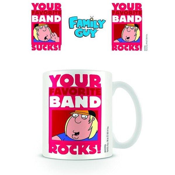 Family Guy Taza Band