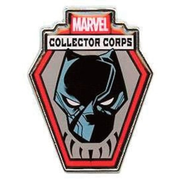 Marvel Comics POP! Pins Chapa Collector Corps Black Panther
