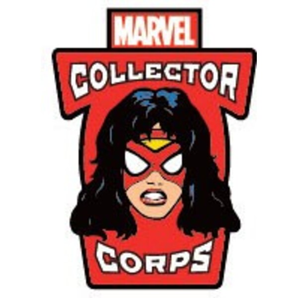 Marvel Comics POP! Pins Chapa Collector Corps Spider-Woman