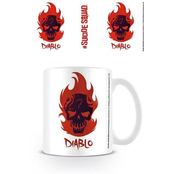 Escuadrón Suicida Taza Diablo Skull