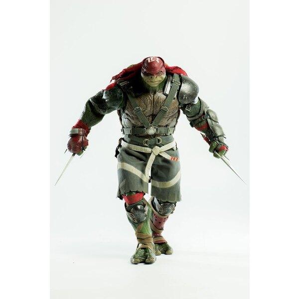 Tortugas Ninja 2 Fuera de las Sombras Figura 1/6 Raphael 33 cm