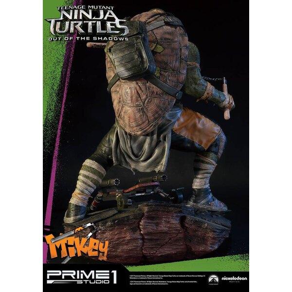Tortugas Ninja Fuera de las Sombras Estatua 1/4 Michelangelo 43 cm