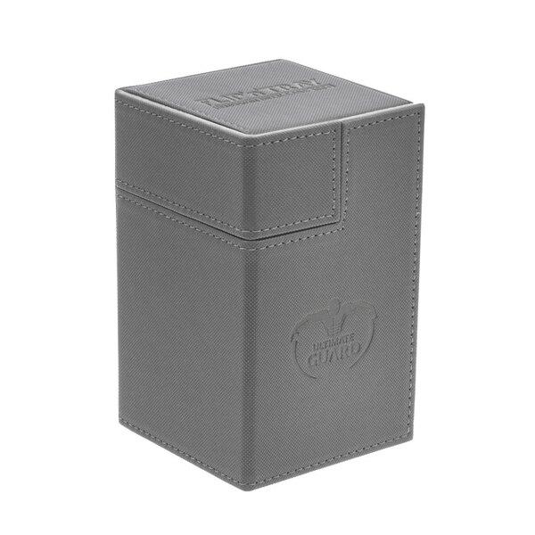 Ultimate Guard Flip´n´Tray Deck Case 100+ Caja de Cartas Tamaño Estándar XenoSkin Gris