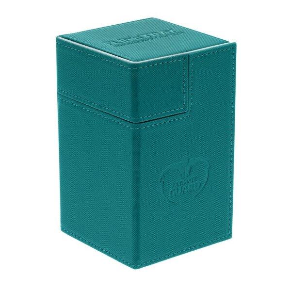 Ultimate Guard Flip´n´Tray Deck Case 100+ Caja de Cartas Tamaño Estándar XenoSkin Gasolina Azul
