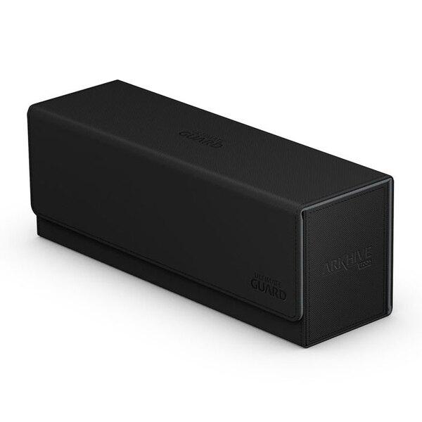 Ultimate Guard Arkhive Flip Case 400+ Caja de Cartas Tamaño Estándar XenoSkin Negro
