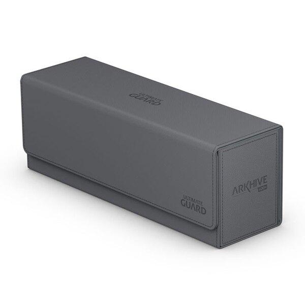 Ultimate Guard Arkhive Flip Case 400+ Caja de Cartas Tamaño Estándar XenoSkin Gris