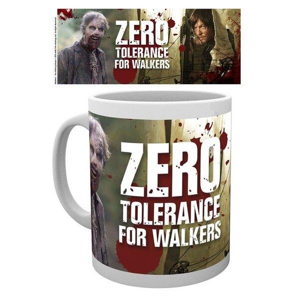 Walking Dead Taza No Tolerance For Walkers