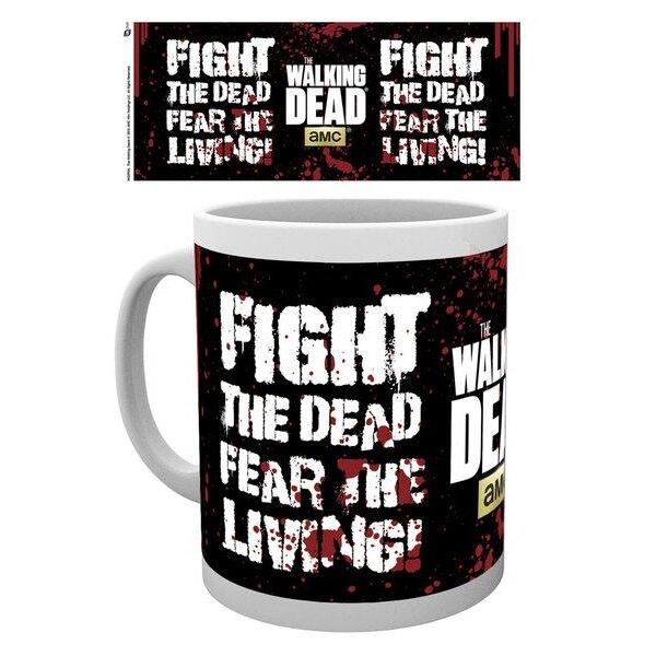 Walking Dead Taza Fight The Dead
