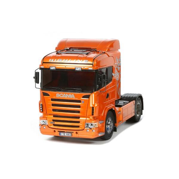 Scania R470 naranja