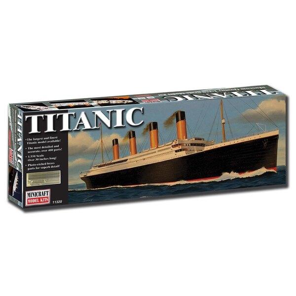 edición de lujo Titanic con la parte grabada