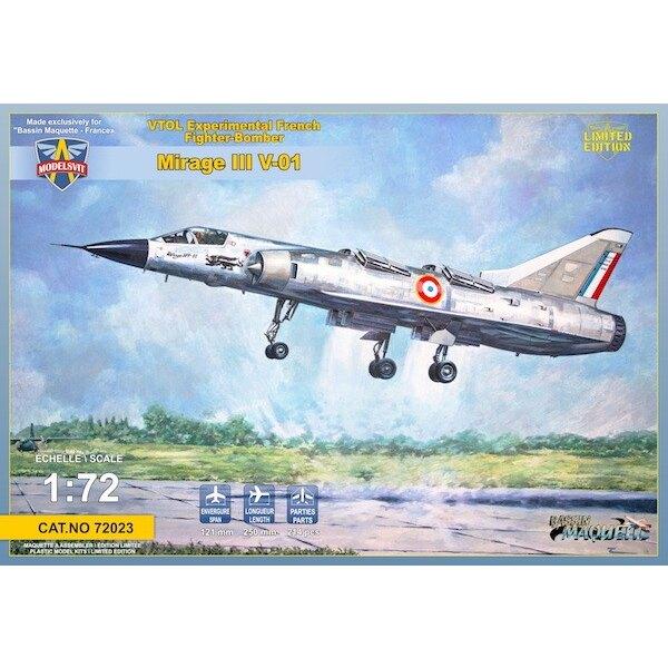 Dassault Mirage III V-01 VTOL francés