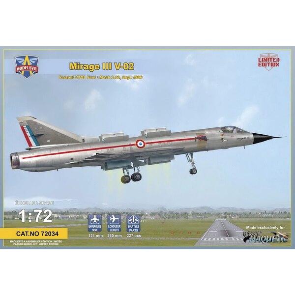 Dassault Mirage III V-02 airstairs - fotograbado placa - edición limitada de 500 compartimentos de motor pcs.detailed - 1 camofl