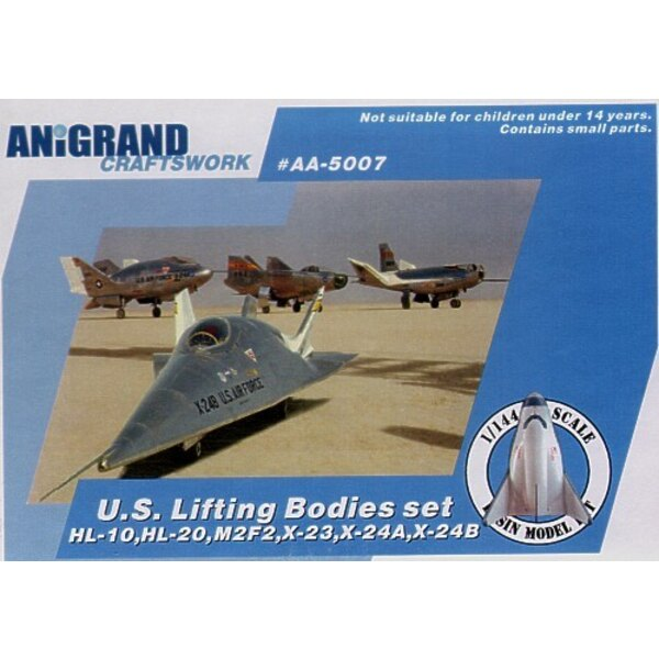 Lifting bodies set. In 1957 NASA had investigated the problems associated with re-entry from space of missile nose cone. Enginee