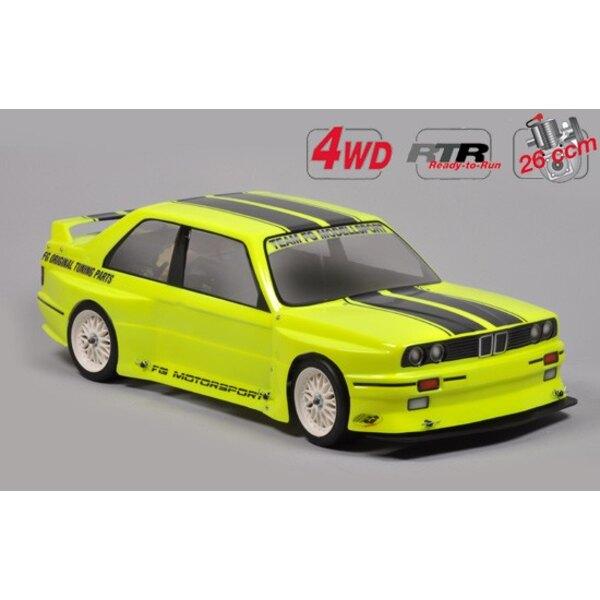 La deriva RTR 4WD chasis + Carro.E30