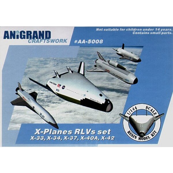 X-33 X-34 X-37 X-40A X-42 X-planes RLV compilation set. In early 1990s US congress requested to reduce funding for Space Shuttle