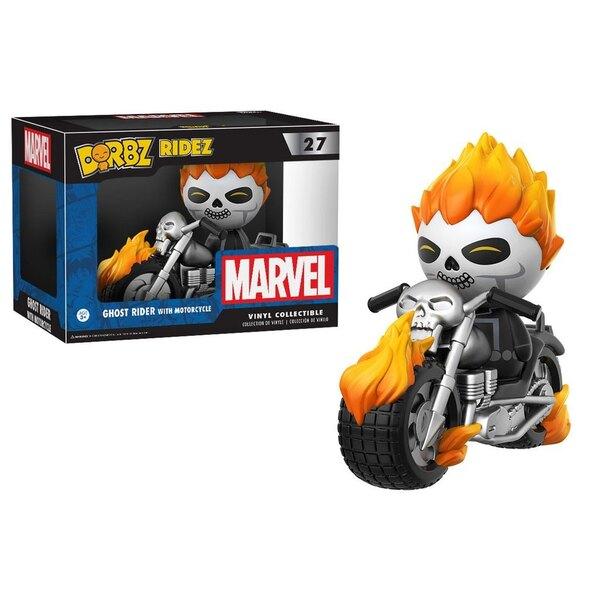 Marvel Comics POP! Ridez Vinyl Vehículo con Figura Dorbz Ghost Rider & Motorcycle 24 cm