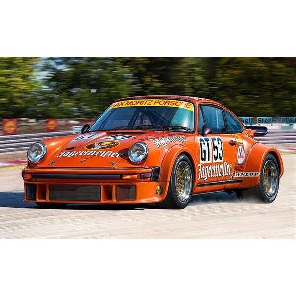 Porsche 934 RSR Jägermeister Un fácil de construir kit modelo de construcción de este éxito Grupo 4 coches de carreras GT que fu