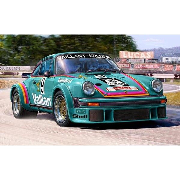 Porsche 934 RSR Vaillant Un kit de modelo de construcción fácil de construcción de este exitoso grupo 4 clase GT de carreras de