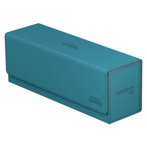 Ultimate Guard Arkhive 400+ Caja de Cartas Tamaño Estándar XenoSkin™ Gasolina Azul