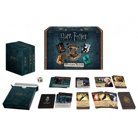 Harry Potter Expansión del Juego Deck-Building The Monster Box of Monsters *INGLÉS*