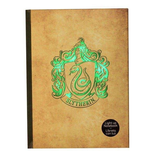 Harry Potter Libreta con luz Slytherin