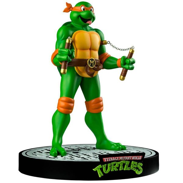 Tortugas Ninja Estatua Michaelangelo 31 cm