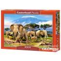 Puzzle Kilimanjaro Mañana, rompecabezas 1000 partes Castorland C-103188-2