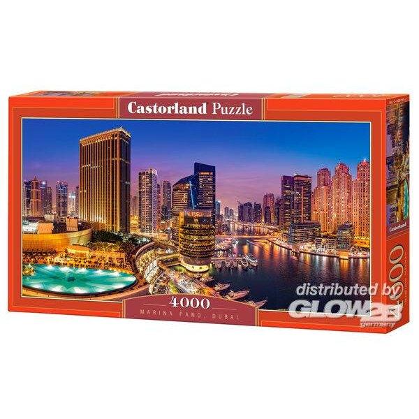 Puzzle Marina Pano, Dubai Puzzle 4000 piezas