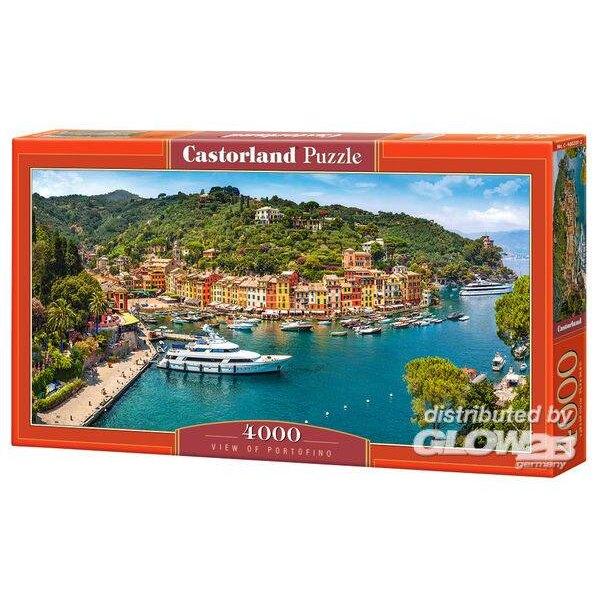 Puzzle Vista de Portofino, rompecabezas 4000 partes