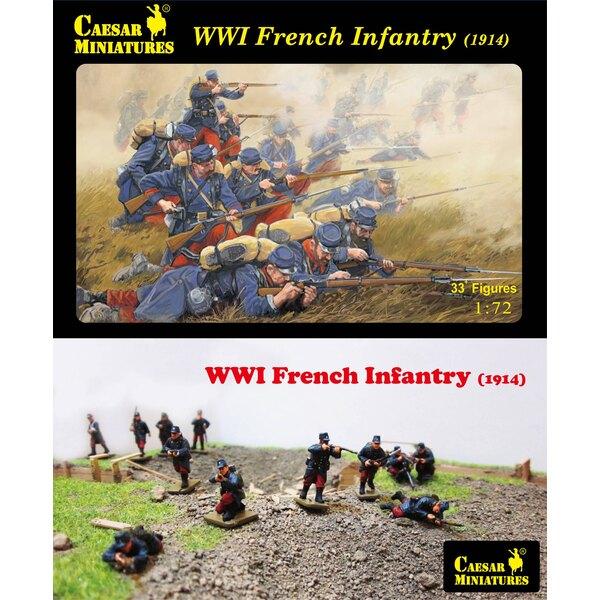 WWI Infantería francesa (1914) (aunque éste es un número de parte viejo esto es un sistema a estrenar que nunca se ha lanzado an