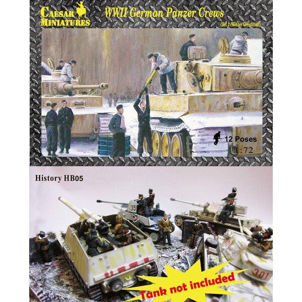 WWII German Panzer Crews (Sets 2) (aunque se trata de un número de parte de edad es un conjunto nuevo que nunca ha sido lanzado