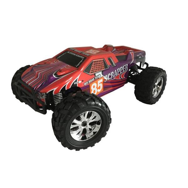 COCHE ROJO ROJO 1/10 4x4 BRUSHED RTR