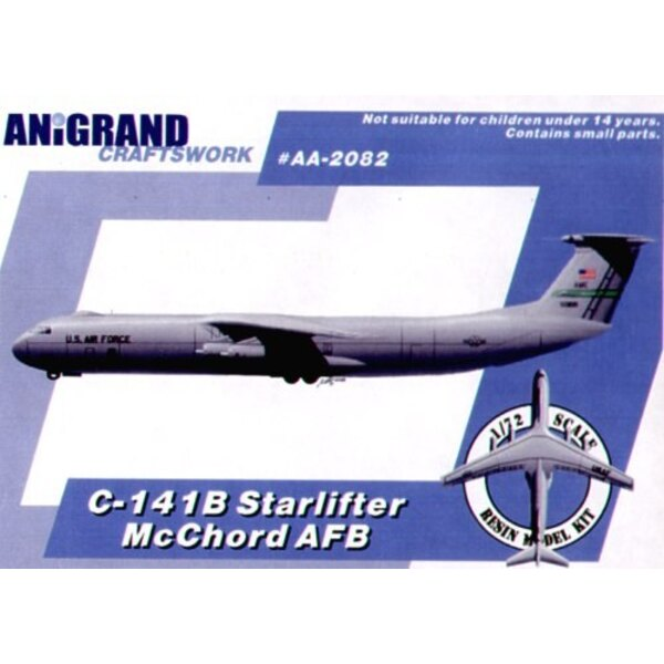 Lockheed C-141B Starlifter McChord Air Force Base markings. In 1959 the U.S.A.F. issued a requirement for a jet powered fast and