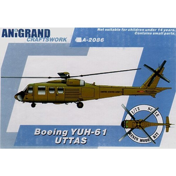 Boeing YUH-61. In 1965 the US Army launched the Utility Tactical Transport Aircraft System (UTTAS) program. The initial specific