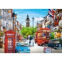 Puzzle Londres, rompecabezas 1500 partes Castorland C-151271-2